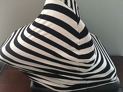 Copper Pearl Black And White Baby Car Seat/Nursing Cover/shopping Cart Cover