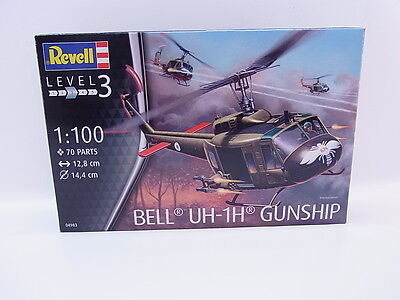 LOT 37003 | Revell 04983 Bell UH-1H Gunship 1:100 Bausatz NEU in OVP