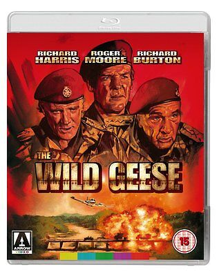 The Wild Geese - Richard Burton - New Blu-Ray