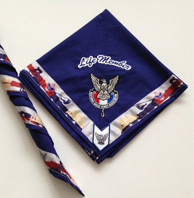 National Eagle Scout Association Eagle Life Member Neckerchief- 2017 Jamboree