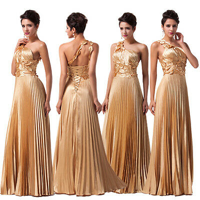 Bridesmaid Prom Ball Dress Cocktail Evening Party Wedding Formal Gown LONG Dress