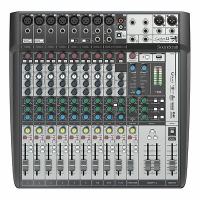 Soundcraft Signature 12 MTK Analog Mixer With Onboard Effects & Multi Channel...