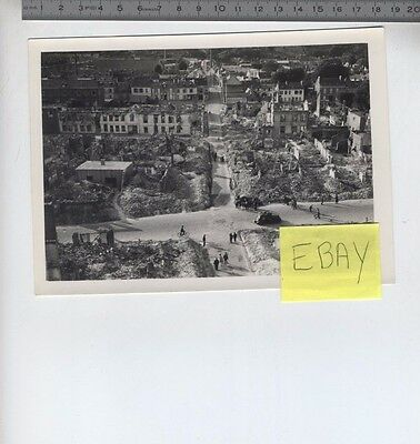 (B/5n) Photo Evreux WW2 Seconde guerre mondiale Ruines