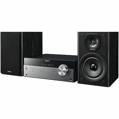 Sony CMTSBT100/CA Home Audio Stereos, Bluetooth Micro System 4W