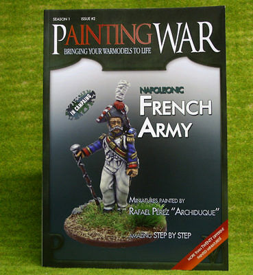 Painting War Issue #2  Napoleonic French Army  Book/ Magazine