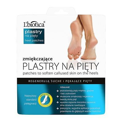 L'Biotica Softening Foot Patches 8H Intensive Regeneration 15g