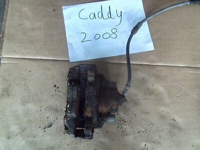 Volkswagen Caddy 2008 Brake Caliper - Front Passenger