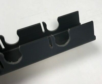 Underfloor Heating Clip Rail for 15/16mm pipe - 1m length - 50 in a pack