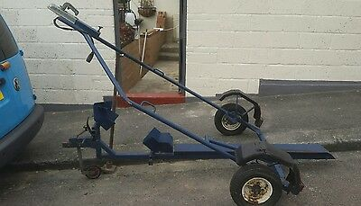 Roll On Roll Off Motorcycle Trailer. AA/RAC Approved. Damageless load/unload