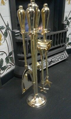 Stunning 16'' Solid Brass Companion Set  NEW & BOXED