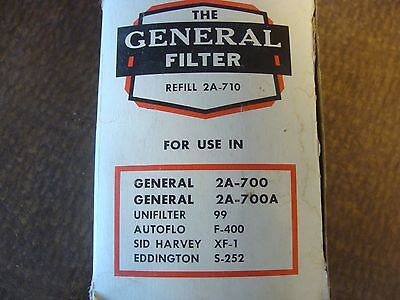 The General Filter #1A-25A