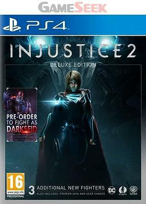 Injustice 2 Deluxe Edition - Playstation Ps4 Brand New