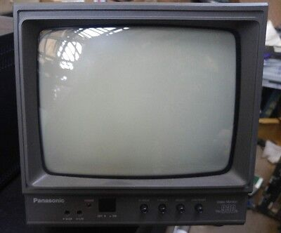 "Vintage Panasonic TR-930B 9"" Video Monitor quantity free shipping"