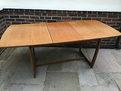 G Plan Style Extending Dining Table Retro Vintage Mid Century Teak
