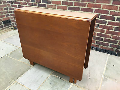 Folding Drop Leaf G Plan Style Table Retro Vintage Mid Century Teak