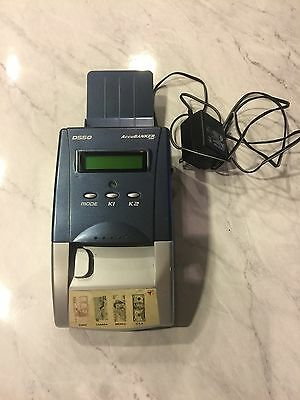 AccuBanker D550 Authenticator Multi-Currency Detector