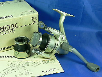 Mulinello Shimano Symetre 1000FE made in Japan, pesca spinning, bolognese