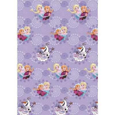 DISNEY FROZEN Elsa Anna Olaf Flat Sheet 140 x 200 cm 100% COTTON