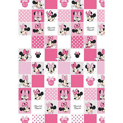 DISNEY MINNIE MOUSE Flat Sheet 140 x 200 cm 100% COTTON