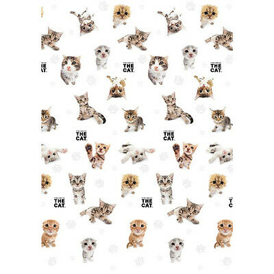 Artlist Collection THE CAT Single Flat Sheet 140 x 200 cm 100% COTTON