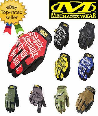 NEW Mechanix Tactical Sports Game Gloves Military Bike Paintball Mechanic Army