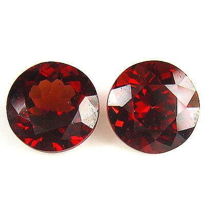 2.29 Ct 2 Pc Awesome Top Fire Matching Pair 100% Natural Spessartine   Loose