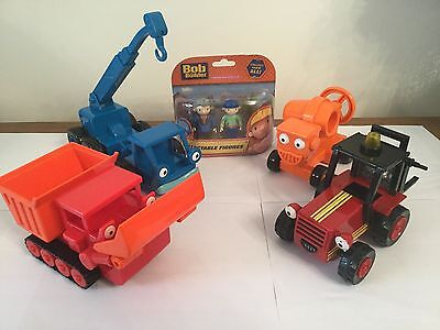 Bob The Builder Friction Toys Plus New Figures (1)