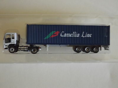 N Scale Tomytec Isuzu Giga Camellia 40 Container Truck Trailer Collection 7 02