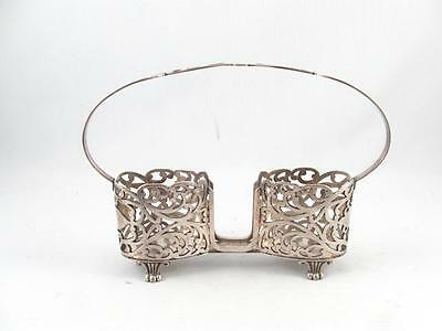Antique/vintage Meriden B Co. Ontario Silver Plated Spooner Spoon Holder Rack