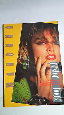 MADONNA: A Poster Book -- 20 Tear Out Posters by Atalanta Press 1986