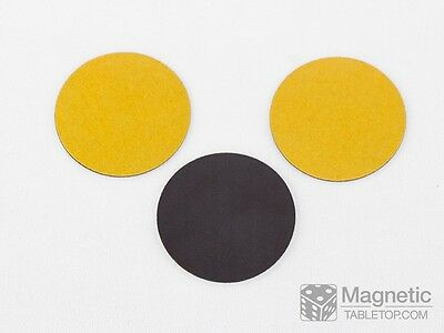 Magnetic Bases - 50 mm round - just peel-n-stick! - Warmachine - Set of 3 pcs.