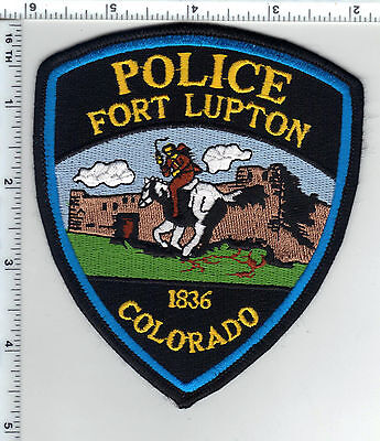 Fort Lupton Police (Colorado) Shoulder Patch - new from the 1980's