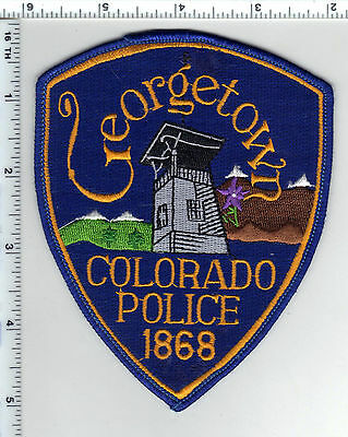 Georgetown Police (Colorado) Shoulder Patch - new from the 1980's