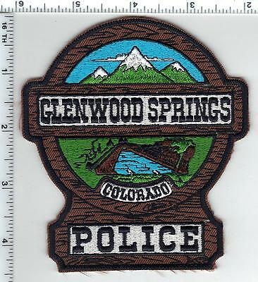 Glenwood Springs Police (Colorado) Shoulder Patch - new from the 1980's