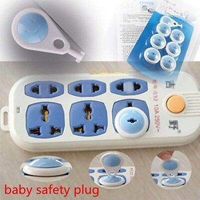 Shock Baby Socket Protective Child Protector Guard Lock Outlet Covers Plug