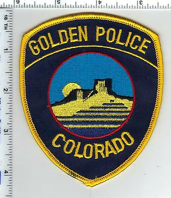 Golden Police (Colorado) Shoulder Patch - new from the 1980's