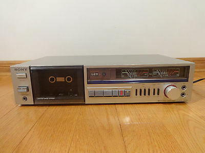 Sony TC-FX2 Stereo Cassette Tape Deck 1981 Japan NEEDS SERVICING Parts or Repair