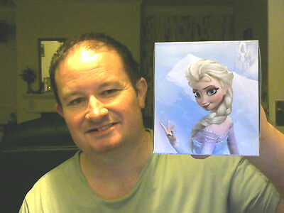 Disney Frozen Box Decorated 60 3 Ply Tissues Great Gift!