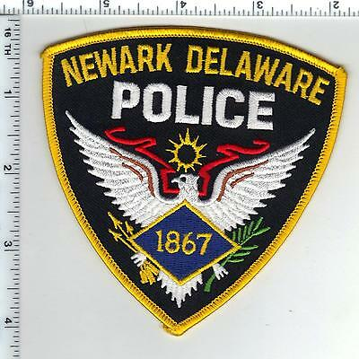 Newark Police (Delaware)) Shoulder Patch - new from the 1980's