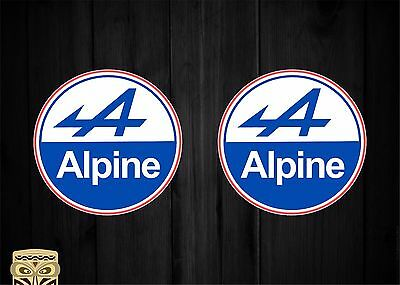 Pegatina Decal Sticker Autocollant Adesivi Aufkleber  Alpine