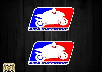 Pegatina Decal Sticker Autocollant Adesivi Aufkleber  Ama Superbike Usa