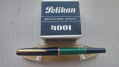 ⭐ Vintage Pelikan 120 fountain pen Grass Green & Black - special edition MK10 ⭐