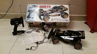 Antiguo Coche Buggy Rc Fd Shogun Marui Radio Control 5 1993 1/14 Japan Vintage