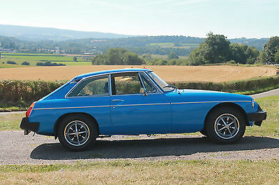 MGB GT 1981 -Genuine Mileage - Lovely Example