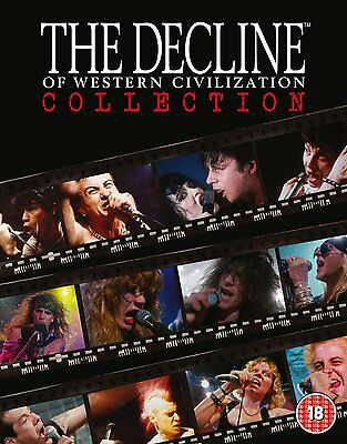 The Decline of Western Civilization Collection: 4 Disc Box Set: New Blu-Ray
