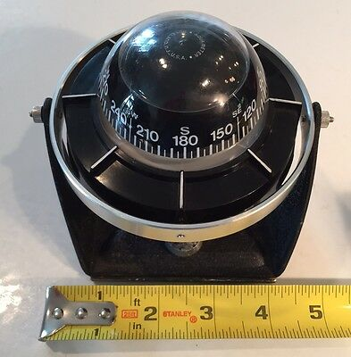 Vintage AQUA METER Sailor Compass Sailboat Motorboat Motorhome RV Made in USA