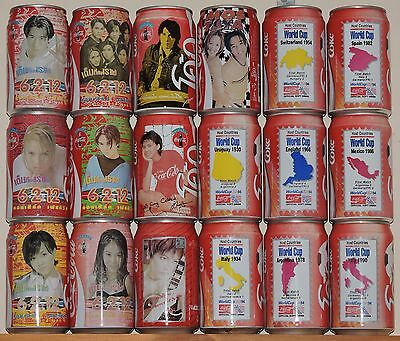 6-2-12, World Cup USA '94 and other assorted Thai Coke Cans