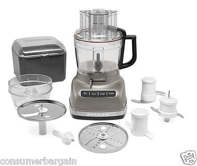 KitchenAid R-KFP1133 11-CUP WIDE MOUTH FOOD PROCESSOR W LARGE EXACT SLICE SYSTEM