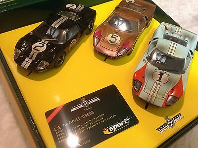 Scalextric Goodwood Festival Of Speed Le Mans 1966  Ford GT40  (Limited Edition)