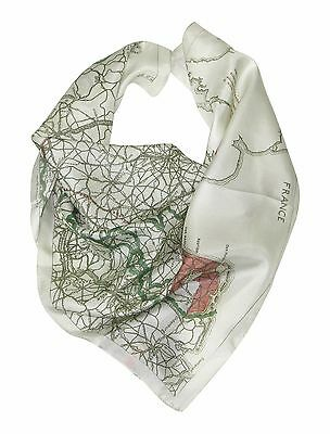 Silk Map Scarf Set of 2 Scarves - escape maps for sale world war 2 ww2 wwii